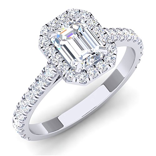 (0.50 Carat (ctw) Platinum Round White Diamond Ladies Bridal Semi Mount Engagement Ring 1/2 CT)