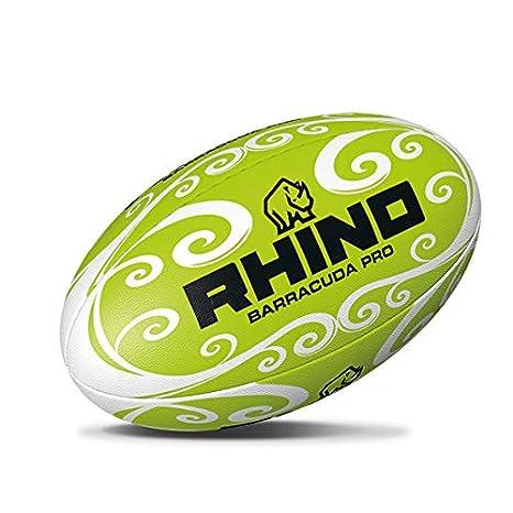 Rhino Barracuda - Pelota de Rugby para Playa, Color Verde, tamaño ...