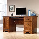 Sauder Computer Desk, Brushed Maple Finish