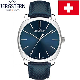 ARMBANDUHR MEN'S COLLECTION HARMONY BERGSTERN B031G153 whatch SWISS MADE hoher QualitÄt MADE IN SVIZZERA.Cinturino