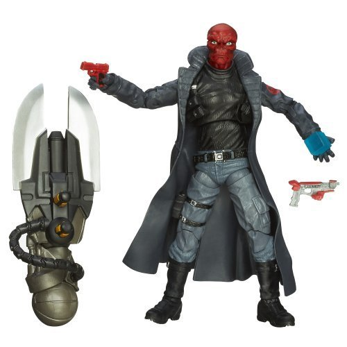 Captain America Marvel Legends Agents of Hydra Figure Red Skull, 6 Inch by Marvel (Hydra Marvel Legends compare prices)