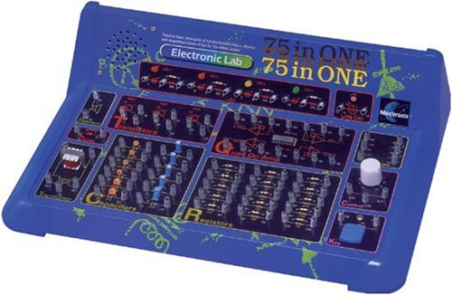 Maxitronix  75-in-One Electronic Project Lab (Elenco Electronics Trainer compare prices)