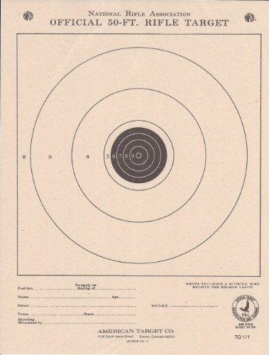 (100) TQ1/1 Paper Shooting Targets Silhouette 7