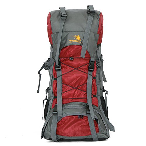 AireLibre Free Knight 60L Internal Frame Backpack Hiking Travel Backpack...