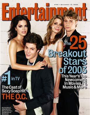 Entertainment Weekly Magazine #741 : The O.C. (December 12, 2003)