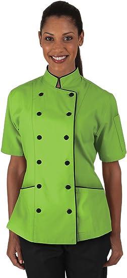 Women/'s Lightweight Chef Coat XS-3X, 9 Colors