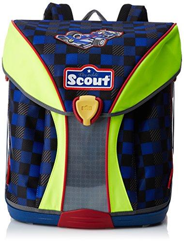Scout Sac à Dos Enfants Sac d'Ecole, 40 cm, 19 L, Multicolore (Bleu)