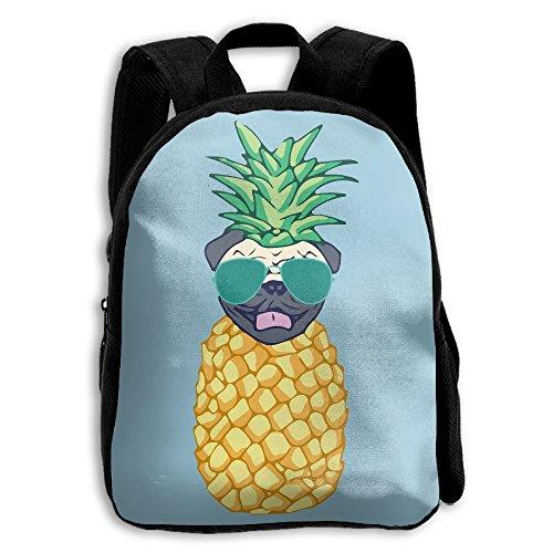 Pineapple Pug Sunglasses Unique 3d Printed Children School Bag - 3d Sublimation Sunglasses
