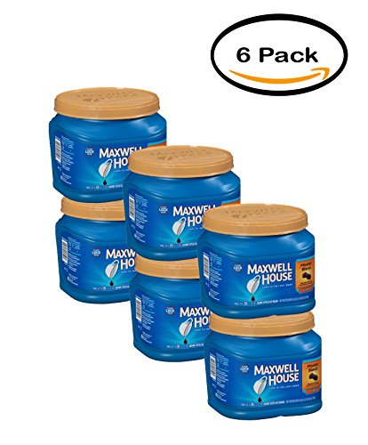 PACK OF 6 – Maxwell House Master Blend Ground Coffee 26.8 oz. Tub