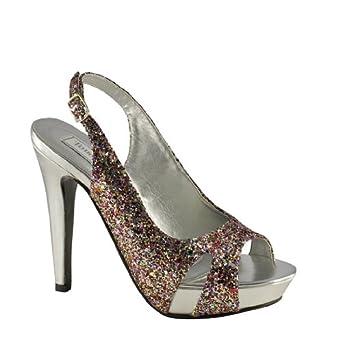 Cinnamon Multi Coloured Wedding Shoes Size 45 Amazoncouk Bags