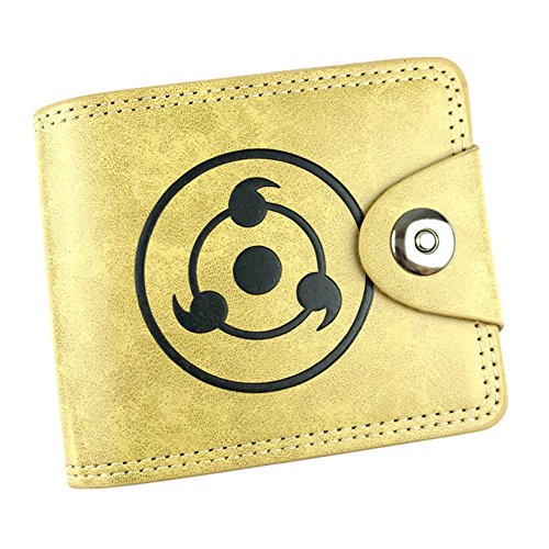 Gumstyle Naruto Anime Cosplay 10 Slots Bifold Wallet Card Holder Purse 1 (Naruto Wallets For Men)
