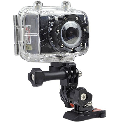 Astak CM-7100 5MP 1080p High Definition Sports Action Waterproof Digital Camera/Camcorder