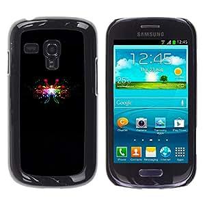 Stuss Case / Funda Carcasa protectora - Different Colors Of Firecrackers - Samsung Galaxy S3 MINI 8190