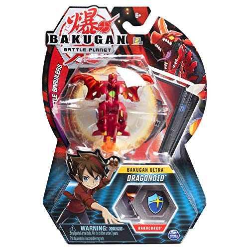 Bakugan Ultra, Dragonoid, 3-inch Tall Collectible Transforming Creature, for Ages 6 and Up