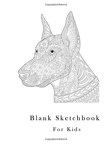 Read Online Blank Sketchbook for Kids: 110 pages, White paper, Sketch, Draw and Paint (white cover) ebook
