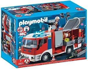 Playmobil - Bomberos: camión (4821): Amazon.es: Juguetes y