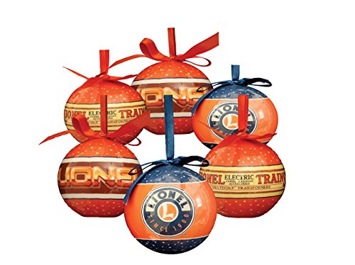 (Lionel Logo Christmas Ornaments)