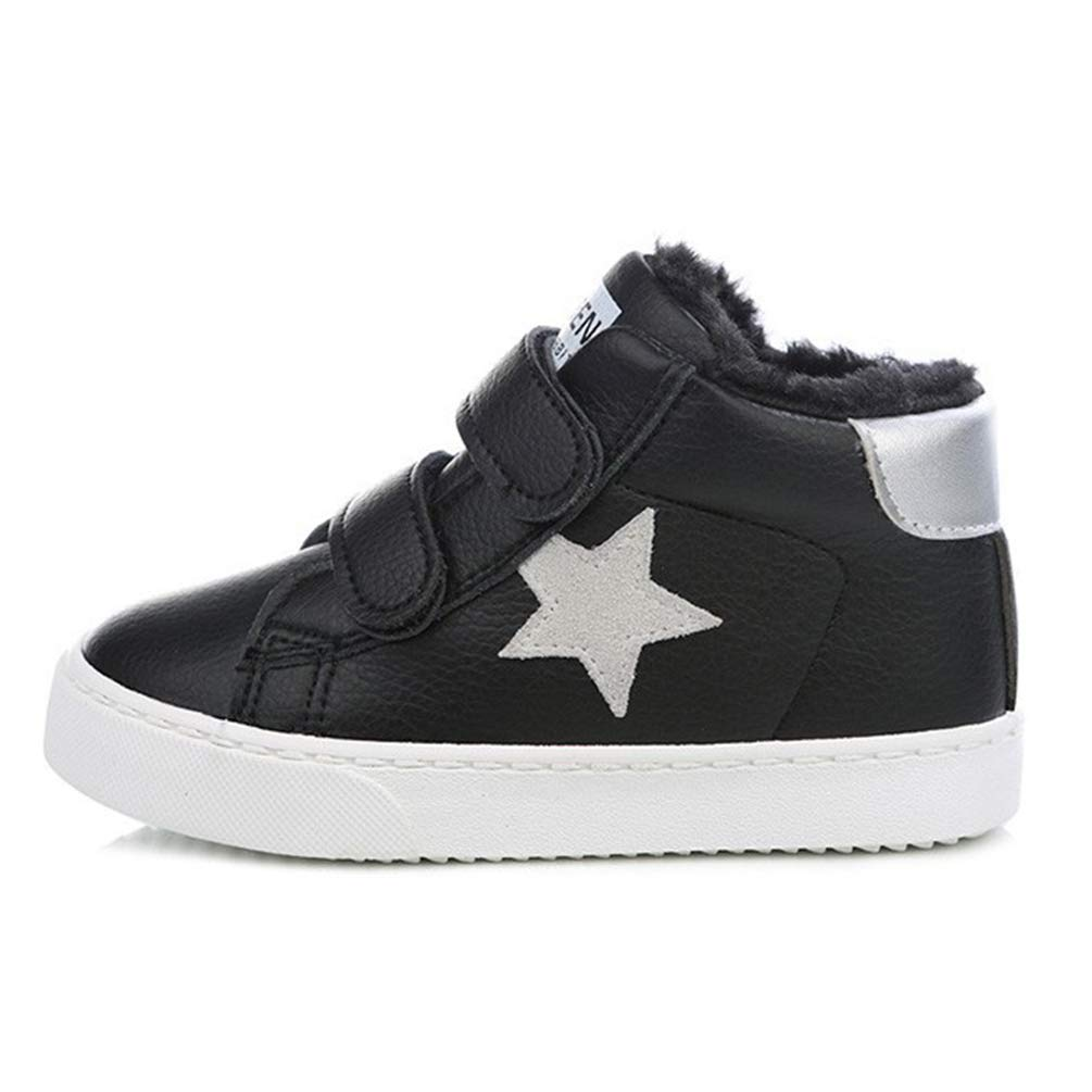 Qianliuk Inverno Kids Shoes for Girl Scarpe Imbottite in Cotone Ragazzi più Velluto Scarpe Casual Calde