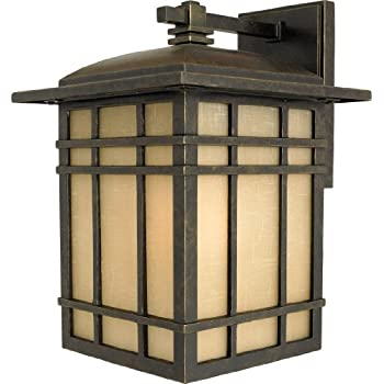 HC8409IB 1 Light Wall Hillcrest Outdoor Lantern In Imperial Bronze