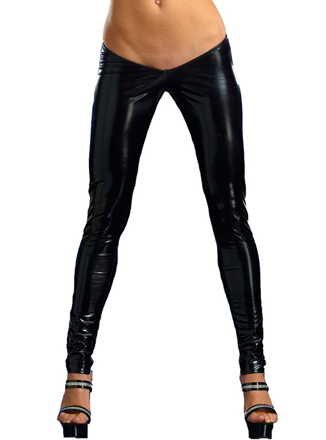 Wicked Temptations Sexy Skinny Pants Low Rise Scrunch Butt Metallic Made In The Usa Cheap
