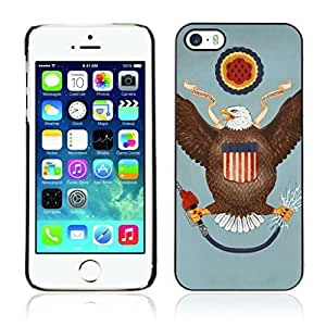 phone covers Colorful Printed Hard Protective Back Case Cover Shell Skin for Apple iphone 4 4s ( Funny USA Flag )