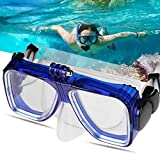 Wall of Dragon Water Sport Diving Mask Men Women Anti-Fog Tempered Glass Lens Silicone Swimming Diving Mask Glasses for Go Pro