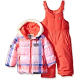 Osh Kosh Baby Girls' Infant Heavyweight 2 Pc Printed Snowsuit