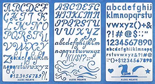 4 inch Yoga Aleks Melnyk #149 Wall Stencils DIY Om//Metal Templates for Wood Burning Art Mandala Symbols for Meditation Crafts Engraving Paint and Home Decor//Set 2 PCS Chakra