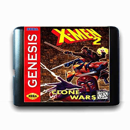 The Crowd Tradensen X-Men 2 Clone Wars 16 Bit Sega Md Game Card for Mega Drive for Genesis