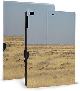 QIAOLII iPad Mini Estuche Avestruz Africana en el Parque Natural Reserve iPad Cover para niños para
