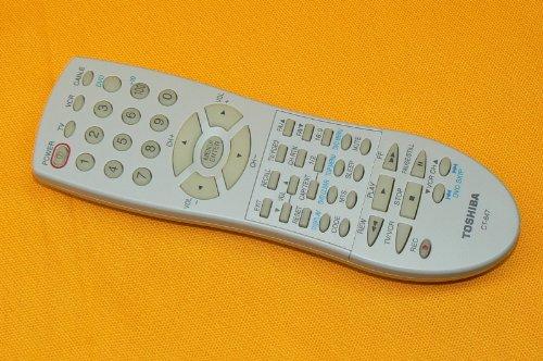 Toshiba CT-847 TV VCR CABLE remote 14AF44 20AF44 24AF44 24AF