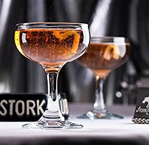 Stork Club Champagne Coupe (Gift Box Set of 2)