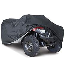 NEVERLAND 190T Waterproof UTV ATV Cover Universal Fit Polaris Honda Yamaha Can-Am Suzuki Black M