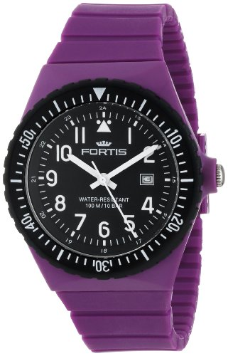 fortis-colors-c-70414-purple-silicone-pop-out-watch