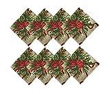 Newbridge Holly Ribbon Traditions Fabric