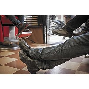 Bates Beltline Performance Men's Motorcycle Boots (Black, Size 11)