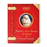 Portable North Pole Twenty-Four Sleeps Until Santa Christmas Storybook with Personalized Video Message from Santa