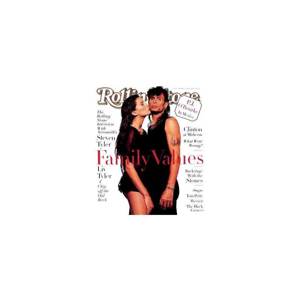 Liv & Steven Tyler, 1994 Rolling Stone Cover Poster Albert Watson (9.00 x 11.00)