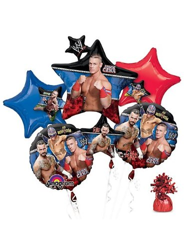 Costume Supercenter BB101433 Wwe Party Balloon (Wwe Party Ideas)
