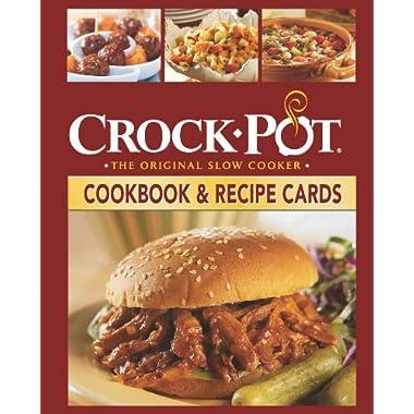 Crock-Pot Cookbook and Recipes Cards