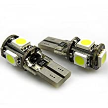 10 Pack T10 5SMD Cool White LED 194, 158, 168, 921, 912, 906 Also fits T5 Landscape lighting Stillookin007 Led Bulbs