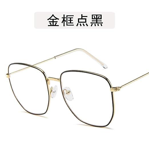 Yangjing-hl Gafas Gafas Montura Redonda Gafas de Sol Gafas ...