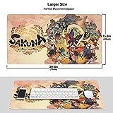 Cherrymo Sakuna of Rice and Ruin Gaming Mouse Pad