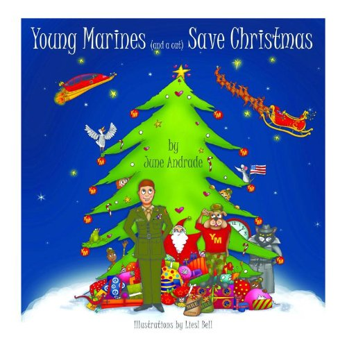 Young Marines Save Christmas (THE HAT and THE CAT Book 2) (Crop Infinity)