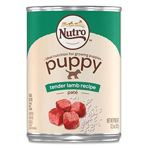 NUTRO Tender Lamb & Rice Pate Puppy, 12.5 oz. (12 in a case)
