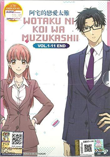 WOTAKU NI KOI WA MUZUKASHII - COMPLETE ANIME TV SERIES DVD BOX SET (11 EPISODES)