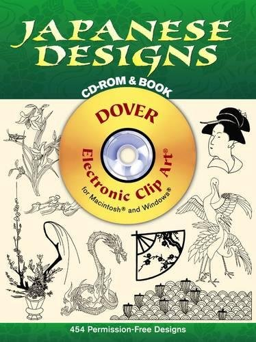 Japanese Designs CD-ROM and Book (Dover Electronic Clip Art) ebook