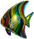 28'' TROPICAL FISH BALLOON - Amazing New HOVERING ANTI-GRAVITY TOY - Free Floating, Flying Fish Animal Kingdom Under The Sea Birthday Party Favor