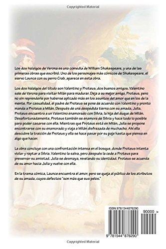 Los dos hidalgos de Verona: Amazon.es: William Shakespeare, Gabriela Guzman: Libros