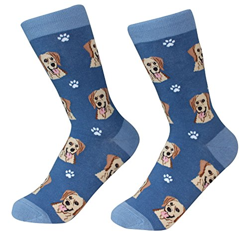 Yellow Lab Socks - Soft combed 200 Needle - One Size Fits Most - ()